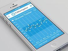 Diabetes App Concept