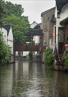 The Grand Canal, Suzhou, China