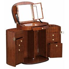 Starbay Marie Galante - Make up Trunk (Rosewood) | Dressing Tables | Bedroom