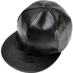 28f3524d7ed ZLYC Unisex Fashion PU Leather Snapback Flatbill Adjust Baseball Hat... (55  PEN
