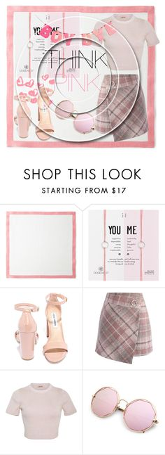 """To Much Pink😶?"" by annacopelandanna ❤ liked on Polyvore featuring Deborah Rhodes, Dogeared, Steve Madden, Chicwish and Cushnie Et Ochs"