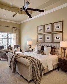 Great greige bedroom