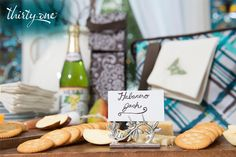 It's impossible to go wrong when you use the Perfect Bottle Thermal and Fresh Market Thermal at any of your celebrations, but if you want to take it up a notch, use place card holders as a cute and practical way to let guests know what different dishes are. www.mythirtyone.com/tnoe