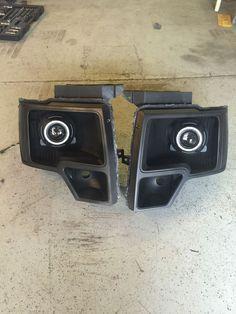 2009-2014 Ford F-150 Retrofitted Headlights in eBay Motors, Parts & Accessories, Car & Truck Parts | eBay