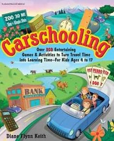 List of activity books for kids on a road trip