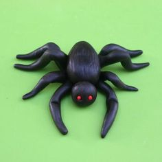 How To Make A Fondant Spider