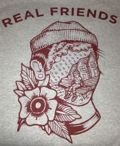 Real Friends Band Merch, Band Shirts, Pop Punk, Emo, Sternum Tattoo, Tattoo Ink, Grunge, Punk Tattoo, Whatever Forever