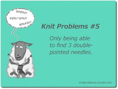 knit problems