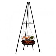 Barbacoa Trípode Acero Parrilla Grill Carbon Colgante Terraza Jardin Camping Outlet, Home Decor, Roaches, Charcoal Bbq, Ovens, Grilling, Steel, Decoration Home, Room Decor