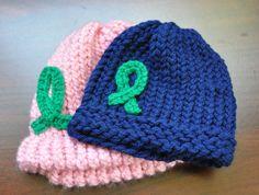Cerebral Palsy Awareness I love to loom hats also!