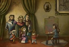 The Recording of the History of Hyrule by ~Cojirou on deviantART