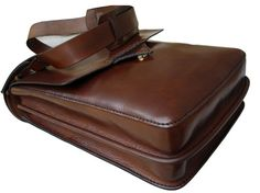 LEATHER HANDMADE BAG / Briefcase / Leather Messenger by PACOSASTRE, $260.00