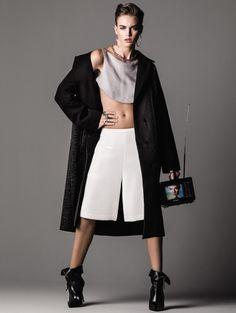 Marina Dociatti por J.R Duran para Vogue Brasil Março 2013