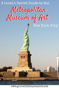 If you enjoy New York City photography or are looking for some New York City things to do while you do some New York City travel, then check out the ten secret travel hacks that locals use to get the most out of their visit to the Metropolitan Museum of Art.
