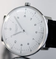 (Max Bill automático chiffres 38 mm (2) - Junghans)