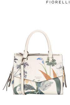 d59f3585629 Fiorelli Printed Grab Bag White Purses, Grab Bags, White Handbag, Vegan  Purses,