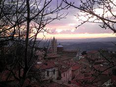 Massa Marittima  #twilight #clouds #landscape