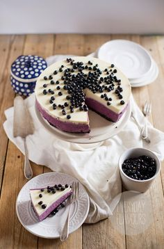 Blueberry Cheesecake | Everyday Flavours
