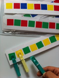 patterns and fine motor work