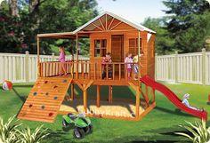 Blue Cockatoo, outdoor playground equipment, cubby house, Blue Cockatoo Cubby House