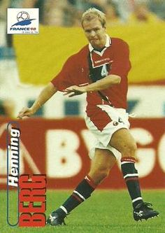 1998 Panini World Cup #14 Henning Berg  Front