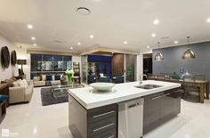The Baybreeze kitchen by Stylemaster Homes. #homebuilder #kitchendesign #kitcheninspo #interiordesign #design #displayhome #brisbane #brisbanebuilder #sunshinecoastbuilder #goldcoastbuilder