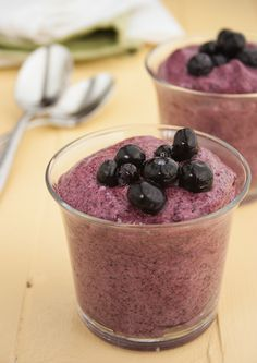 Serves 1 | Prep time: 10 minutes | Total time: 10 minutes, plus freezing time Ingredients 1 cup blueberries 1 teaspoon powdered stevia (or to taste) 1 large fresh egg white Pinch of cream of tartar Directions Combine the blueberries and stevia in a blender and puree until smooth. With an electric mixer, beat the […]