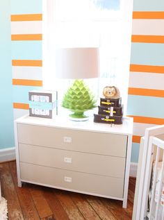 Rosenberry Rooms used the Artichoke Lamp in their boys room. The Modern Lovers, Funky Lighting, Room Store, Bedroom Orange, Before After Photo, Cozy Place, Decoration, Kids Bedroom, Design Inspiration