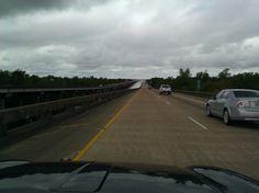 crazy long bridges ....lets hope u dont have to pee ...lol