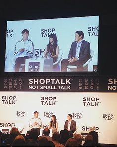 """""""Learn how to capture Mind, Wallet, and Heart"""" - great quote by Jue Wong - President of Elizabeth Arden #elizabetharden #24notion #shoptalk16 @elizabetharden"""