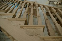 cut string staircase - Google Search