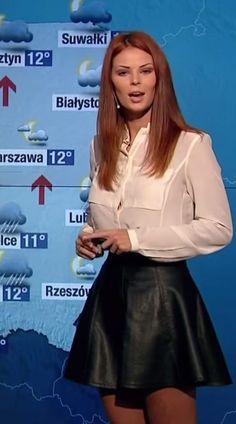 Córka Jana Tomaszewskiego została pogodynką  GOSIA  TOMASZEWSKA