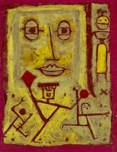 Paul Klee (1879-1940) In 1900 volgt hij de schilderlessen van de symbolist Franz von Stuck aan de kunstacademie van München. Paul Klee probeerde opgenomen te worden in de afdeling beeldhouwkunst, maar hij wilde niet meedoen aan de verplichte toelatingstoets dus verliet hij München. Voor zijn vertrek verloofde hij zich in het geheim met Lily.