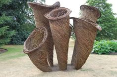 Tom Hare Willow Mushrooms at Kew Gardens-  more info here: