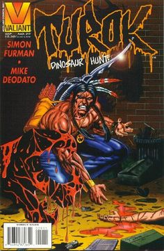 Cover for Turok, Dinosaur Hunter (Acclaim / Valiant, 1993 series) #29