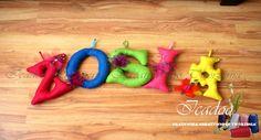Filcowe Literki - Icadoo Pracownia Kreatywnego Tworzenia