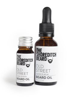 New! Old Street Beard Oil - The Shoreditch Beard - 1