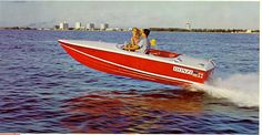 1960's Sweet 16 Donzi, corvette engine. My dad and I had this boat when I was a kid. A sport car of a boat!