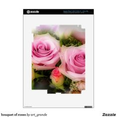 bouquet of roses decals for iPad 3