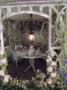 Miniature Plants, Miniature Rooms, Diy Dollhouse, Dollhouse Miniatures, Fairy Lanterns, Vitrine Miniature, Garden Terrarium, Diy Furniture Projects, Fairy Dolls