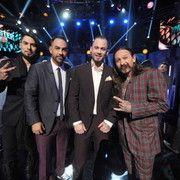 Dave Navarro, Chris Nunez, Scott Marshall, and Oliver Peck from Ink Master season finale