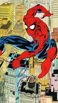 Comics Spider Man Mobile Wallpaper Spiderman Comics Comic Books Art
