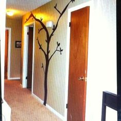 How to make an easily removable tree mural   Guidecentral