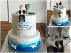 Kommuniontorte für den Sohn einer Freundin :-)   www.facebook.com/ekmens.cake4u  #Kommunion #Torte #Cake #Fondant