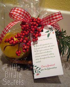 Little Birdie Secrets: holiday potpourri