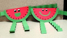 Tutorial : Watermelon Craft for Kids