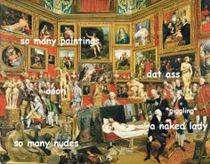 An ongoing collection of art related memes