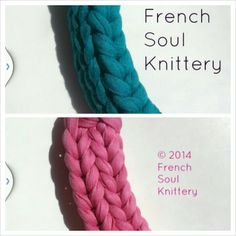 Knitted necklace ##knitwear #knit #handmade #frenchsoulknittery #knittednecklace #knittedjewelry #prettyinpink