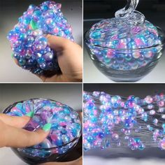 Slime Colorful Beads Mermaid Crystal Mud Cotton DIY Slimes Dough Slime Charms Stress Relief Toy for Children Slime Gift Price: Diy Crafts Videos, Diy Crafts To Sell, Easy Crafts, Diy Crafts For Teen Girls, Kids Diy, Diy Galaxy, Diy Crystals, Black Crystals, Stress Relief Toys