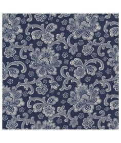 http://www.kawaiifabric.com/en/p11392-navy-blue-fabric-with-beige-Jacobean-flower-design-by-Timeless-Treasures.html